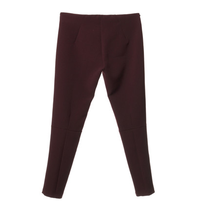Twin-Set Simona Barbieri Trousers Bordeaux colors