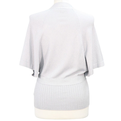 Karen Millen top in silver