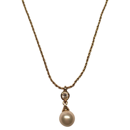 Christian Dior Chain with Pearl pendant