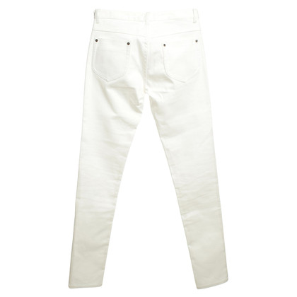 Maison Martin Margiela Cotton pants in white