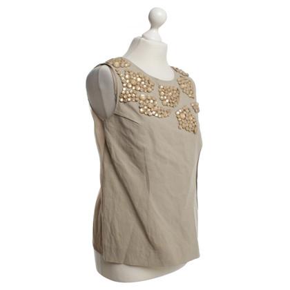 Marni Linen shirt in beige