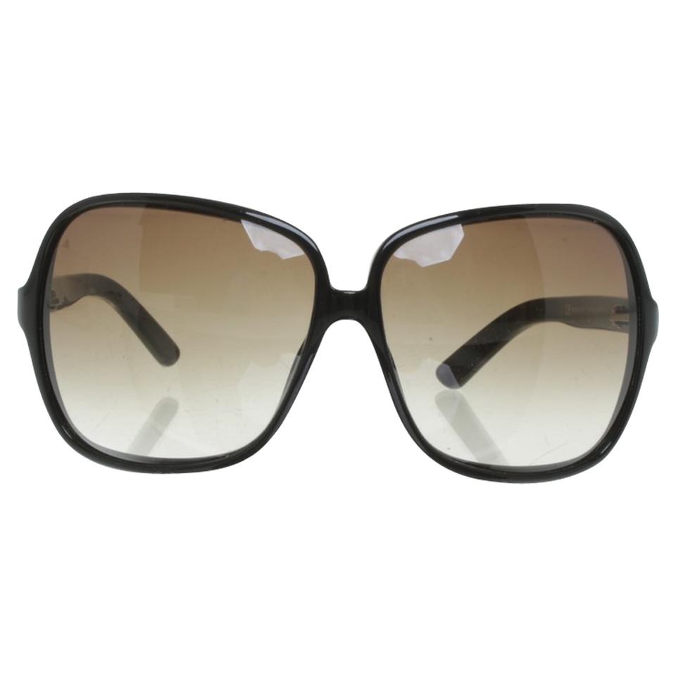 yves saint laurent sonnenbrille in schwarz second hand. Black Bedroom Furniture Sets. Home Design Ideas
