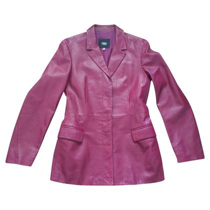 Versace Blazer Leather