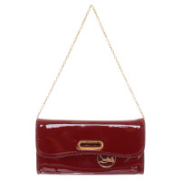 Christian Louboutin clutch made of patent leather