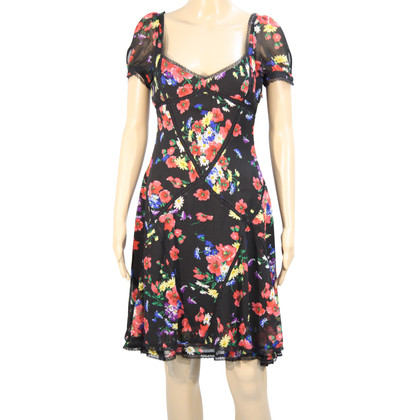 Karen Millen Silk dress with pattern