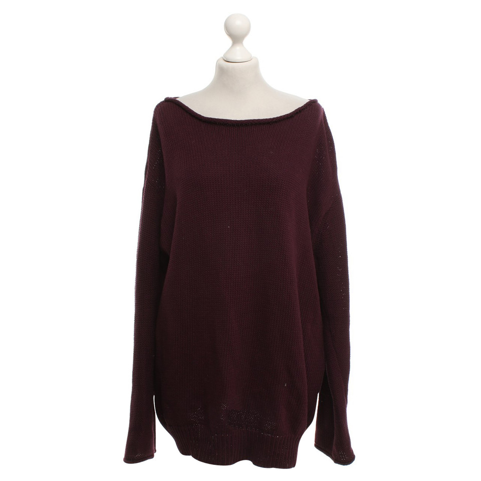 Acne Eggplant colored pullover