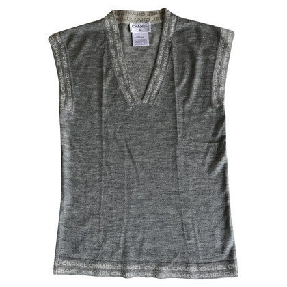 Chanel top cashmere