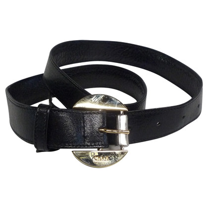 Chloé CHLOE BLACK LEATHER BELT
