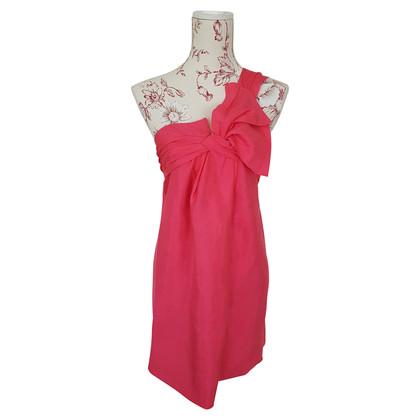 Gucci one shoulder Dress/Top aus Wildseide
