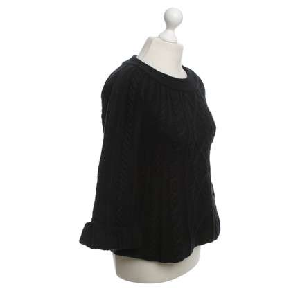 By Malene Birger Strickpullover in Schwarz
