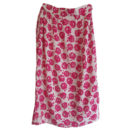 Emanuel Ungaro Vintage skirt with a floral pattern