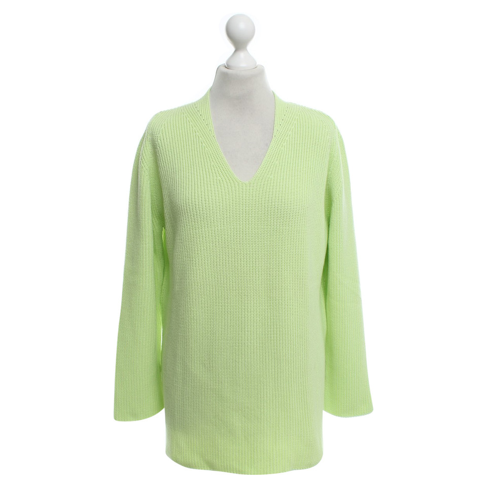 marc cain knitted pullover in green buy second hand marc cain knitted pullover in green for. Black Bedroom Furniture Sets. Home Design Ideas