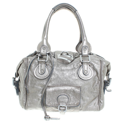 "Chloé ""Paddington Bag"" in Silber"