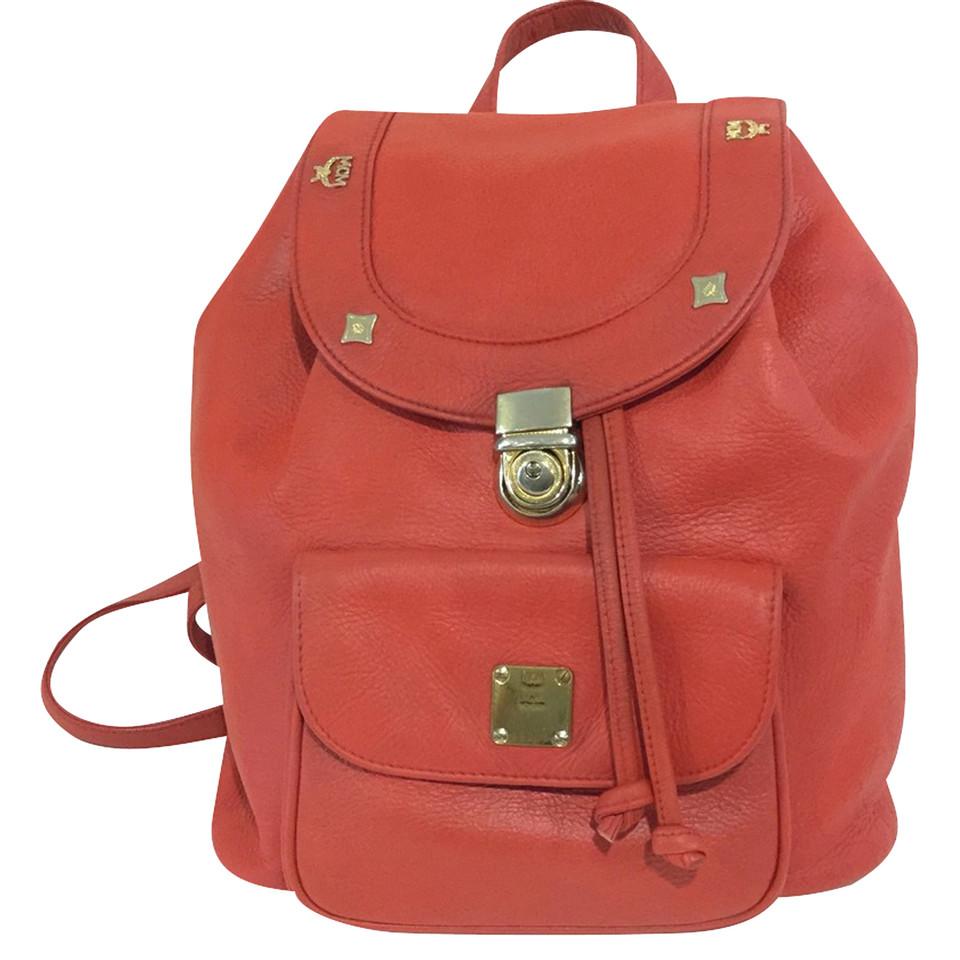 mcm mcm backpack red buy second hand mcm mcm backpack red for. Black Bedroom Furniture Sets. Home Design Ideas