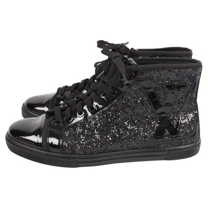 Louis Vuitton Louis Vuitton Punchy Glitter Sneakers