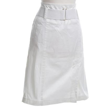 Strenesse Baumwollrock in Weiß