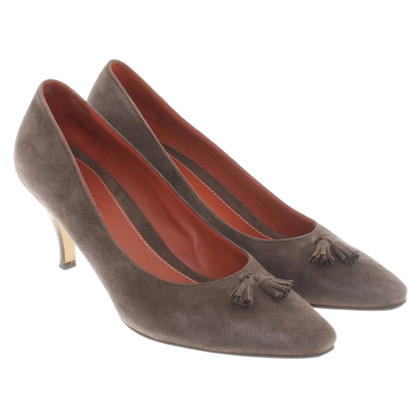 Loro Piana Pumps aus Wildleder