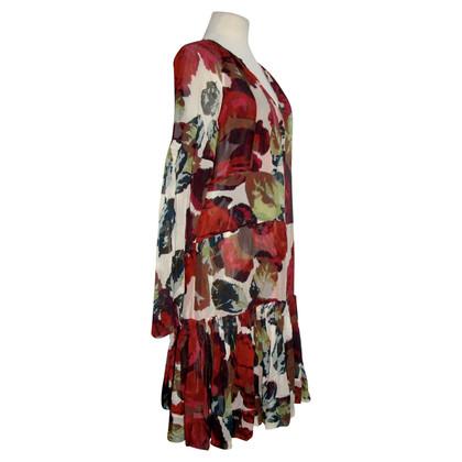 Diane von Furstenberg Jurk met zijden print