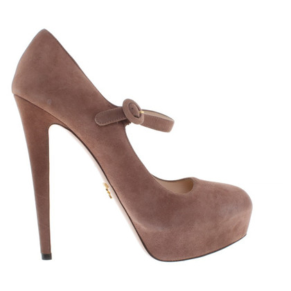Prada taupe High Heels
