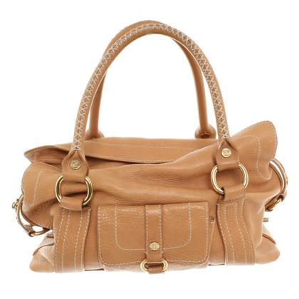 Céline Handtasche aus braunem Leder