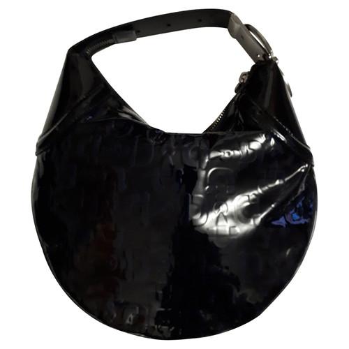 f453ec52a53 Gucci Handbag Patent leather in Blue - Second Hand Gucci Handbag ...