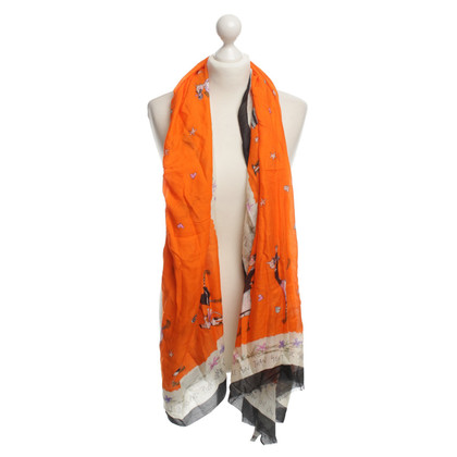 Moschino Cheap and Chic Printed scarf