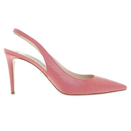 Prada Slingbacks in pink