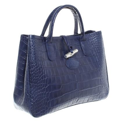 Longchamp Handtas donkerblauw