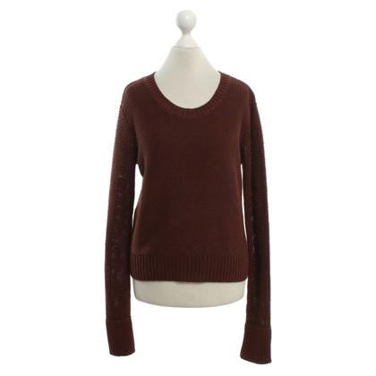 T by Alexander Wang maglione maglia in marrone