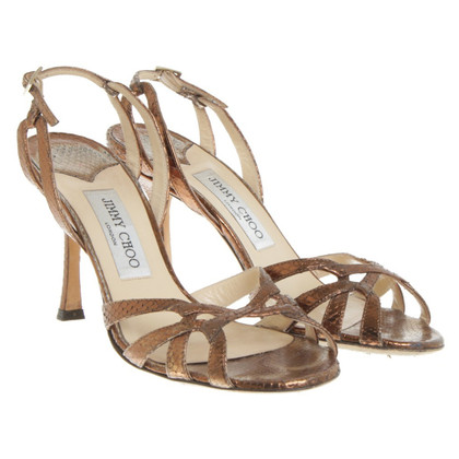 Jimmy Choo Infradito in rame