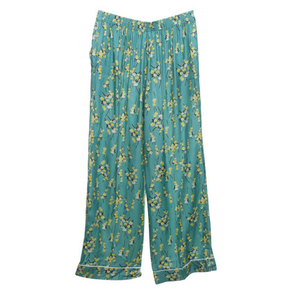 Sonia Rykiel trousers with floral pattern