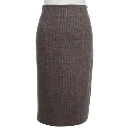 Luisa Cerano skirt with houndstooth pattern