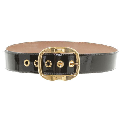 D&G Patent leather belt