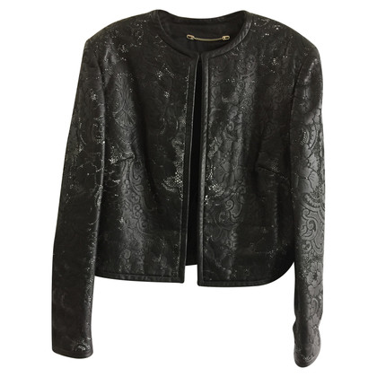 Escada Leather Blazer