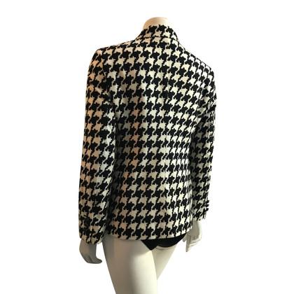 Strenesse Jacke mit Hahnentritt-Muster