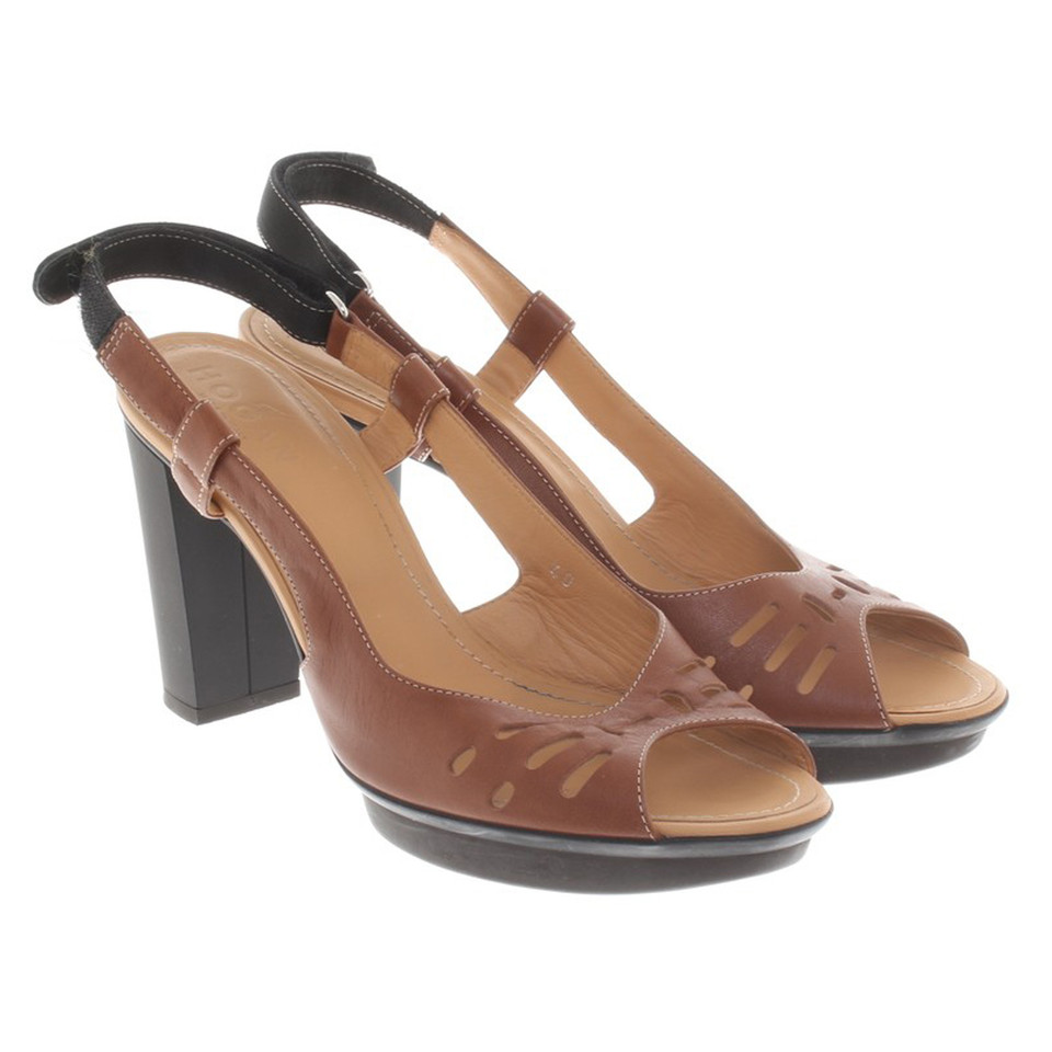 Hogan Sandals in brown