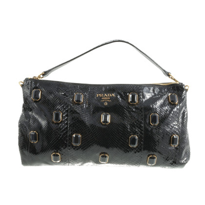 Prada Pochette snake leather