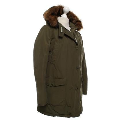Woolrich Parka con bordo in pelliccia
