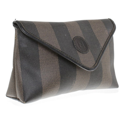 Fendi Cosmetic bag with stripe pattern