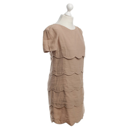 Sandro Dress in Beige