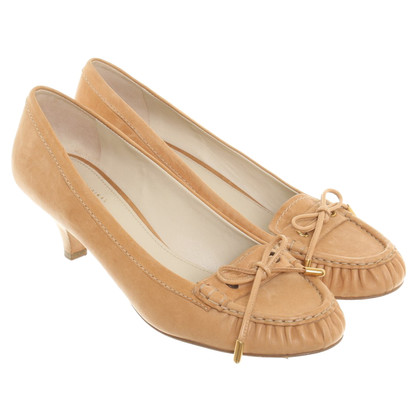 Car Shoe pumps beige
