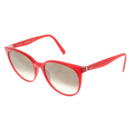 Céline Sonnenbrille in Rot