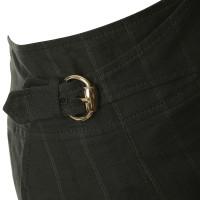 Gucci Pin stripe mini skirt