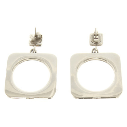 D&G Ear studs in silver colors