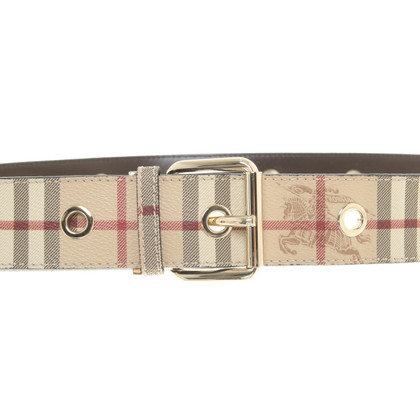 Burberry Belt with Nova-Check pattern