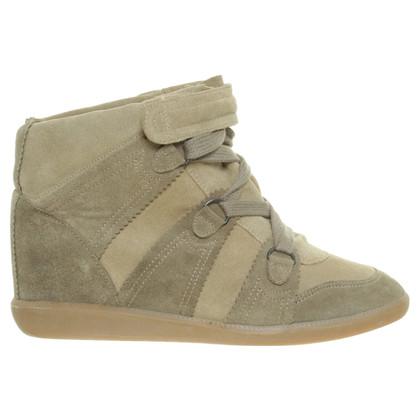 Isabel Marant Sneaker Wedges suede