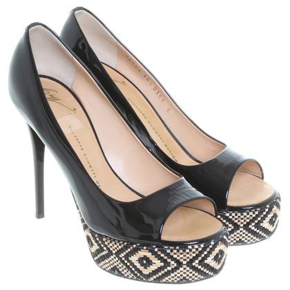Giuseppe Zanotti Peep-toes in black