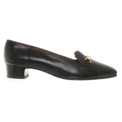 Bally Pantofole in pelle nera