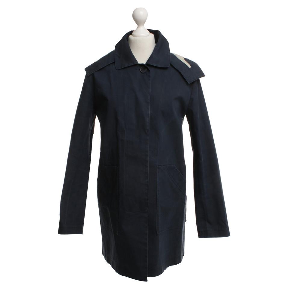 armani jeans mantel in dunkelblau second hand armani jeans mantel in dunkelblau gebraucht. Black Bedroom Furniture Sets. Home Design Ideas