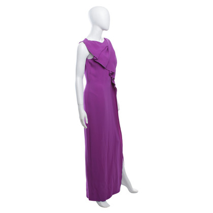 Escada Abendkleid in Fuchsia